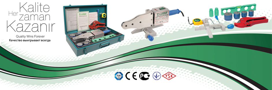 PE, PPRC, PPR, Plastic, Pipe, Welding Machine Set, CM CANDAN Welding machine